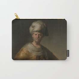 """Rembrandt Harmenszoon van Rijn, """"Man in oriental costume"""", 1632 Carry-All Pouch"""