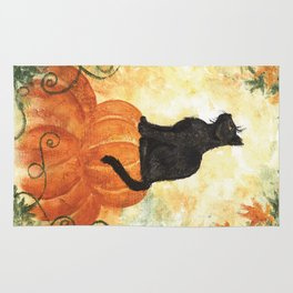 Harvest Kitty Rug