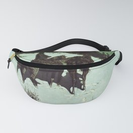 Reconnaissance in the Wild West Fanny Pack