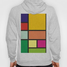 colorblock colorful composition 176/8 Hoody