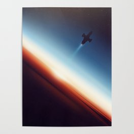Into Space Poster