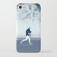 run iPhone & iPod Cases featuring run by habish
