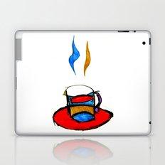 hot coffee Laptop & iPad Skin