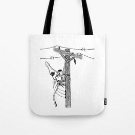 linemonster Tote Bag