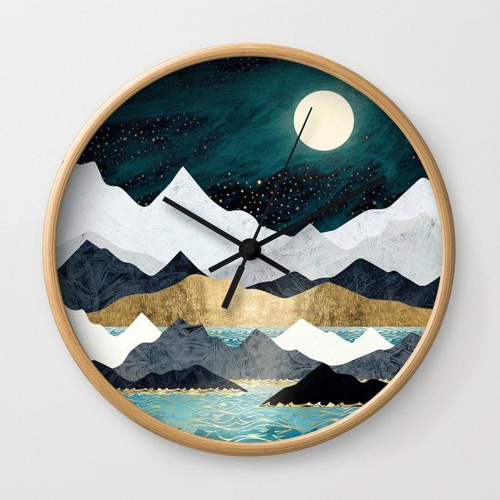 Ocean Stars Wall Clock
