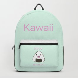 Cute Onigiri Kawaii ^.~ Backpack