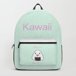 Cute Onigiri Kawaii ^.~ Backpack