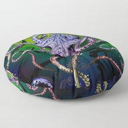 Rainbow Octopus Floor Pillow