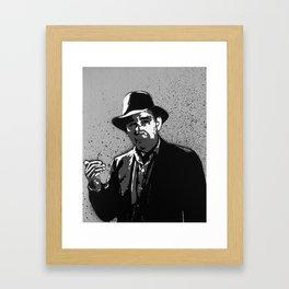 The Hitch-Hiker Framed Art Print