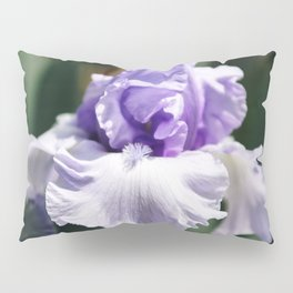 Lavender Iris Pillow Sham