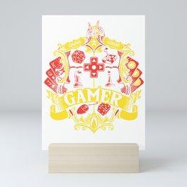 Gamer Dice RPG Tabletop gamepad funny gifts Mini Art Print