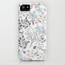 floral background iPhone Case