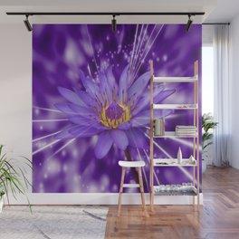 Purple Lotus  Wall Mural