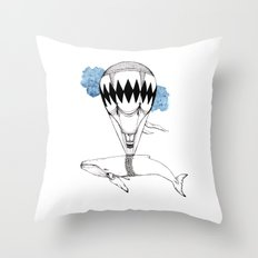 the great escape Throw Pillow