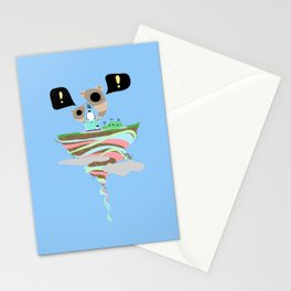 Dreaming for an adventure. Stationery Cards