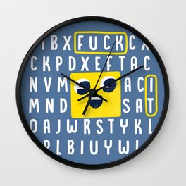 The Puzzle Game Wall Clock