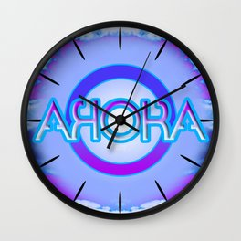 """AHORA"" Wall Clock"