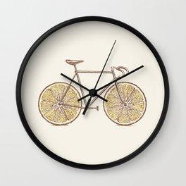Velocitrus (color version) Wall Clock