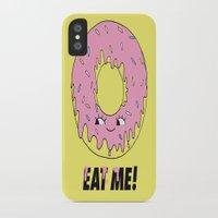 donut iPhone & iPod Cases featuring Donut by Eduardo Doreni