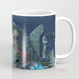 Beautiful mermaid Coffee Mug