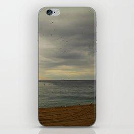Barcelona beach iPhone Skin
