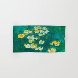 Serene Lotus Pond Hand & Bath Towel
