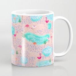 Flamingo lake-pink Coffee Mug