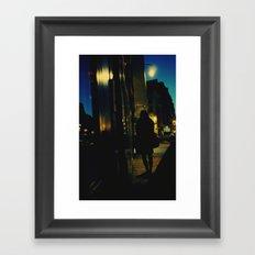 Dark Hour Framed Art Print