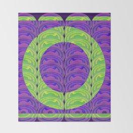 Circle design 3 Throw Blanket