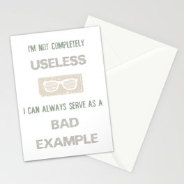 BAD EXAMPLE Stationery Cards