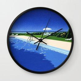 Hiroshi Nagai Vaporwave Shirt Poster Wallpaper Wall Clock