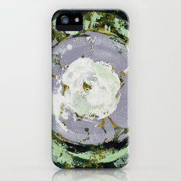 Enso Of Lavender iPhone Case