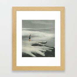 "3am of the soul #9 ""shaky hands"" Framed Art Print"