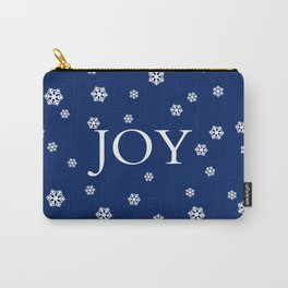Winter Joy - navy blue - other colors Carry-All Pouch
