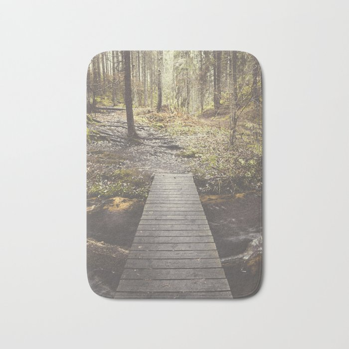 My home, the forest Bath Mat