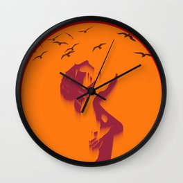 Loser sky Wall Clock