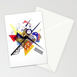 Kandinsky On White II (Auf Weiss) 1923 Artwork Reproduction, Design for Posters, Prints, Tshirts, Me Stationery Cards