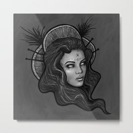 The Night Witch Metal Print