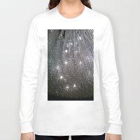 sparkles Long Sleeve T-shirts featuring Sparkles by Jacqueline Obispo