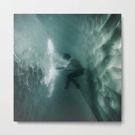 Underwater Portal Metal Print