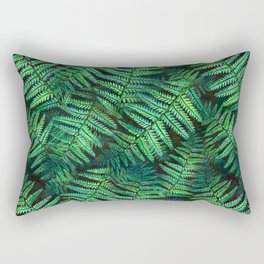 Among the Fern in the Forest Rectangular Pillow