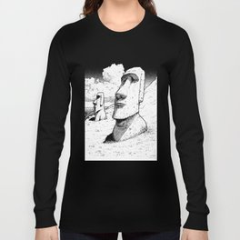 Easter Island  Long Sleeve T-shirt