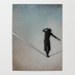 Slackline Poster