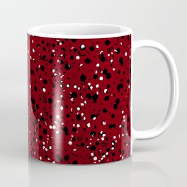 Speckled Red Coffee Mug