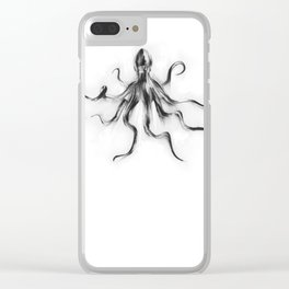 King Octopus Clear iPhone Case