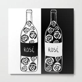 Rosé and evil twin Metal Print