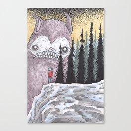 SkullBunny Trilogy: Pt 3 Canvas Print