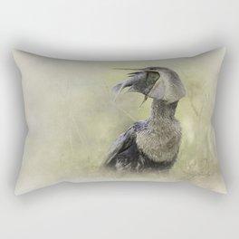 Down the Hatch Rectangular Pillow