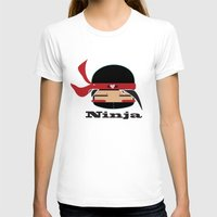 ninja T-shirts featuring Ninja by Ninbun