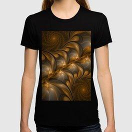 Warming, Luminous Abstract Fractal Art T-shirt
